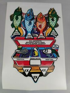 Fishtales Playfield Decal