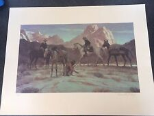 Kenneth Riley Western Art Print  Signed Limited Edition 119/350
