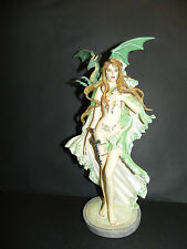 "Nene Thomas ""Ornacle"" Maiden & Dragon Figurine 2010 Limited Editions Fairy"