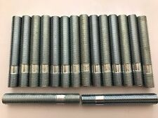 16 X M12X1.25 ALLOY WHEEL STUDS CONVERSION BOLTS 80mm LONG FITS CITROEN FIAT