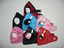 SOFT PADDED DOG or PUPPY HARNESS - IDEAL FOR THE SMALLER DOG XS/S/M/L