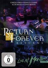 Return to Forever-Returns Live at Montreux 2008 (DVD) NEW/SEALED!!!