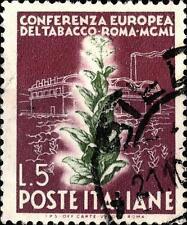 ITALIA REP. - 1950 - Conferenza Europea del Tabacco - 5 Lire