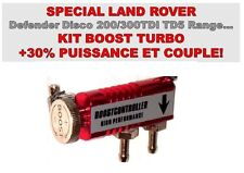 KIT BOOST TURBO! +50% PUISSANCE & COUPLE! DEFENDER LAND RANGE DISCO TD5 200TDI