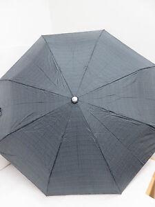 Regenschirm * schwarz/grau Taschenschirm - Doppler