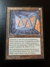 1x Portuguese Mana Crypt MTG Book Promo Magic Slightly Played EX