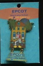 Wdw Epcot Food and Wine Festival 2005 Donald Duck Le Disney Pin 41805