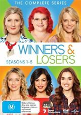 Winners & Losers : COMPLETE Season 1 2 3 4 5 (DVD, 27-Disc Set) NEW Box-Set