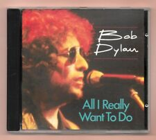 RARE CD ★ BOB DYLAN - ALL I REALLY WANT TO DO ★ SANS CODE BARRE (ORIGINAL 1989)