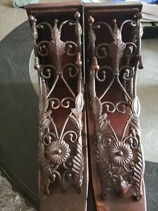 "13"" Metal Corbels Set Of 2"