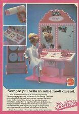 X1088 BARBIE - Sempre più bella in mille modi diversi - Mattel - Pubblicità 1987