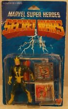Marvel Secret Wars Electro Mattel Spider-Man Villain Mint On Card Bubble Stapled