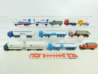 BH734-0,5# Konvolut Wiking H0/1:87 LKW-Modelle/Zugmaschinen; Bastler/sehr gut