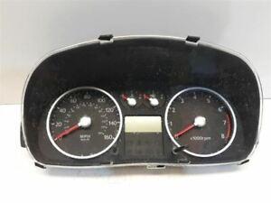 05-06 Hyundai Tiburon Speedometer Cluster Instrument Cluster 5 Speed ABS 120k