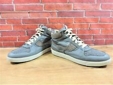 Paul Smith High Top Boots UK 8 US 9 EU 42 Sneakers Trainer Grey Suede & Leather