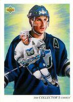 1992-93 UPPER DECK NHL HOCKEY BASE PICK CARD YOUR CHOICE