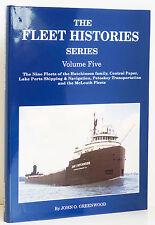 FLEET HISTORIES Vol 5 Great Lakes Cargo Ship History Hutchinson McLouth More NEW