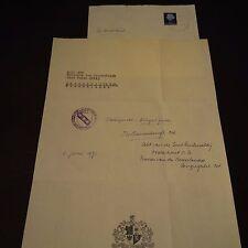 ADELBERTUS VAN DER WIELEN OSB seit 1967 Abt EGMOND (NLD) signed Brief 20x30