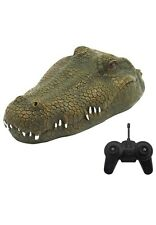 RC Simulation Crocodile Head Spoof Toy (a)