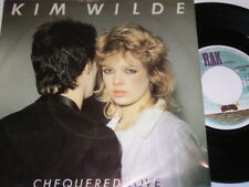 "Kim Wilde Chequered Love & Shane (1981 Dutch 7"") 6514"