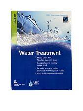 WSO Water Treatment, Grade 1: AWWA Water System Operations WSO by AWWA (English)