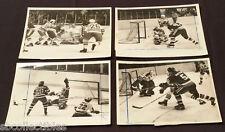 1979 - NHL - ORIGINAL MEDIA / PRESS - RANGER vs ISLANDERS - ACTION PHOTOS - (4)