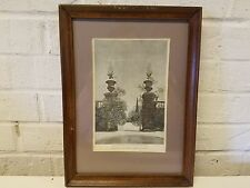 Maxfield Parrish Gateway of the Botanic Gardens of Padua Framed Print