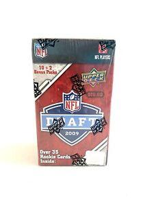 2009 Upper Deck NFL Draft Football Blaster Box 12 Packs Per Box