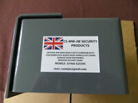 MADE in the UK Yellow roller shutter garage door defender Security Lock Kit