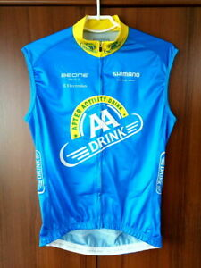 Cycling Vest Gilet Shirt AA Drink Beone Team Shimano size M 52cm