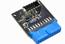USB3.0 20Pin(19-pin) to USB 3.1 A-KEY Type-e Gen2 Motherboard Header Adapter