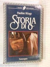 STORIA DI O Pauline Reage Sonzogno 1986 libro romanzo narrativa storia racconto