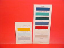 1963 FORD F-100 250 350 PICKUP TRUCK ECONOLINE FALCON BUS WAGON PAINT CHIPS