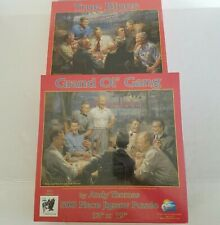 Suns Out 500 Piece Jigsaw Puzzle Lot of 2 True Blues & Grand Ol' Gang Presidents