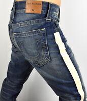 True Religion Men's $249 Geno Relaxed Slim Brand Jeans - 100709