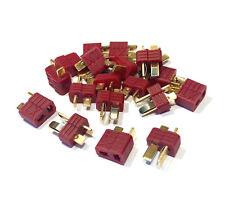 3 Paar 6 Stück Hochstrom XT T-Dean T-Stecker Dean T-Plug T-Connector Goldstecker