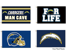 NEW! Los Angeles Chargers Flag 3ft x 5ft Mancave 20+Styles FREE FAST SHIPPING