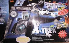 X-Trek Micro Rennbahn 2in1 4,25 Meter 40MHz + Fahrzeug xtrek Auto Bahn Kinder