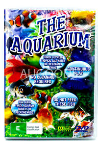 THE AQUARIUM TRANSFORM YOUR TV INTO A FISHTANK WITH MUSIC - DVD New