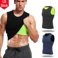 Fajas Colombianas Men Sweat Vest Body Shaper Slimming Sauna Tank Top Compression