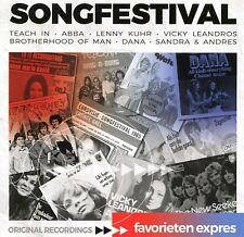 Eurovision Songfestival : with many Dutch ESC entries from 60s, 70s & 80s (CD)
