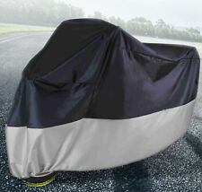 1x XXL Large Motorcycle Motorbike Cover Chopper Touring Bikes Water Resistant