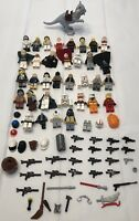 LEGO Star Wars Harry Potter Minifigures Lot with Accessories Tauntaun R2D2