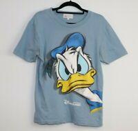 Disneyland Hong Kong T-Shirt Blue Donald duck Size M