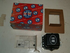 NOS KW Voltage Regulator 12V Pontiac 1963-1966 Tempest 1963