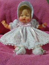 """Vintage 1960's Original IDEAL Tiny THUMBELINA Doll 14"""", Clean, Working Wind Up"""
