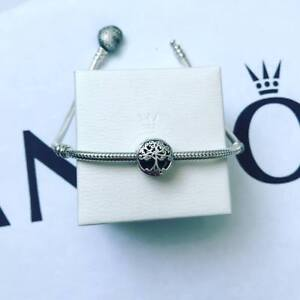 Pandora Silver Family Roots Charm (ALE S925)