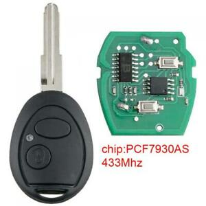Car Remote Key FOB 433mhz PCF7930AS Chip Fit for Land Rover Discovery 2 TD4 TD5