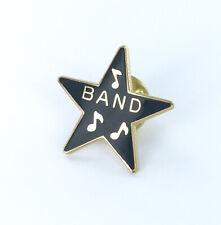 Band Star Lapel Pin - School Band Award - Music Uniform Pin - Participation NEW