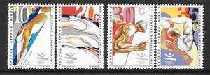 CYPRUS SG811/4 1992 OLYMPIC GAMES MNH
